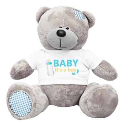 Плюшевый мишка Тедди Baby It'a a boy