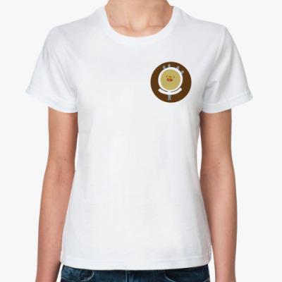 Классическая футболка  Человечек