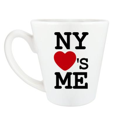 Чашка Латте NY Loves Me