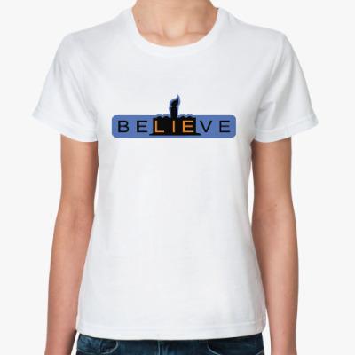 Классическая футболка BeLIEve