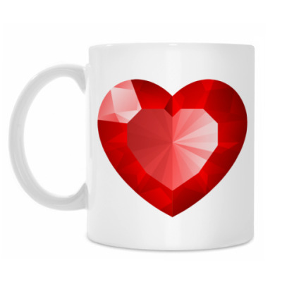 Кружка Рубиновое Сердце