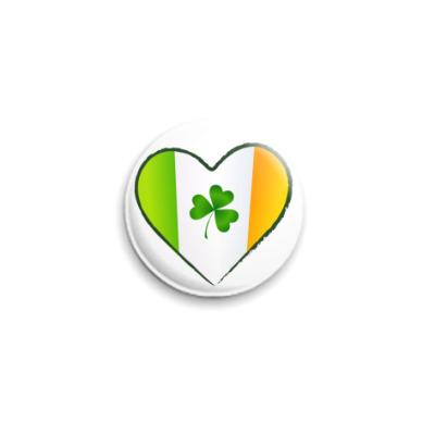 Значок 25мм I love Ireland