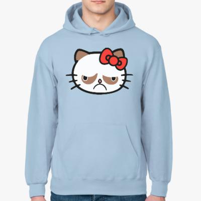 Толстовка худи Hello Grumpy Cat