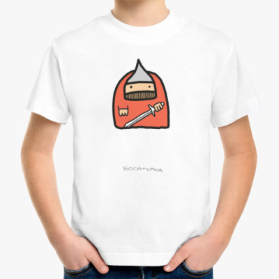 Детская футболка Богатырка