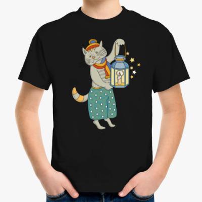 Детская футболка Кошка на счастье