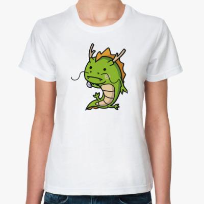 Классическая футболка 'Дракоша'