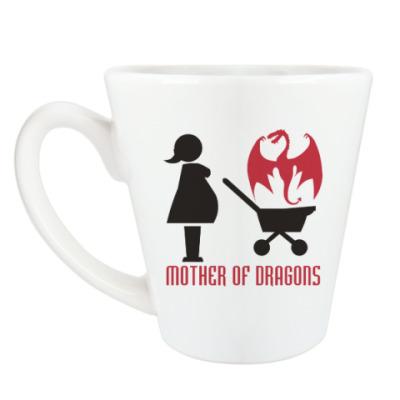 Чашка Латте Мать драконов
