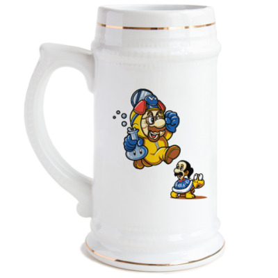 Пивная кружка Mario Heisenberg