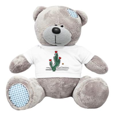 Плюшевый мишка Тедди Сердце пустыни