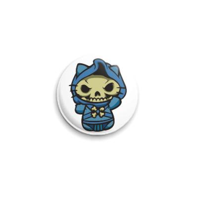 Значок 25мм Kitty Скелетор