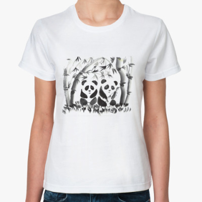 Классическая футболка Панды