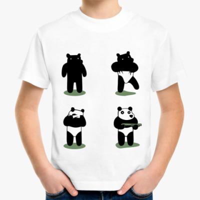 Детская футболка Ограбление по-пандовски