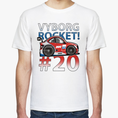 Футболка Vyborg Rocket '14