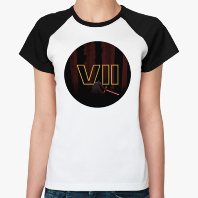 Женская футболка реглан Star Wars: Episode VII - The Force Awakens