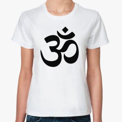 Классическая футболка Мантра ОМ
