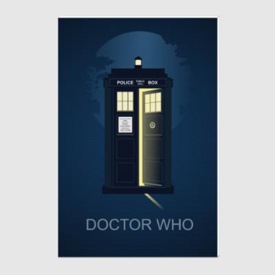Холст Doctor Who