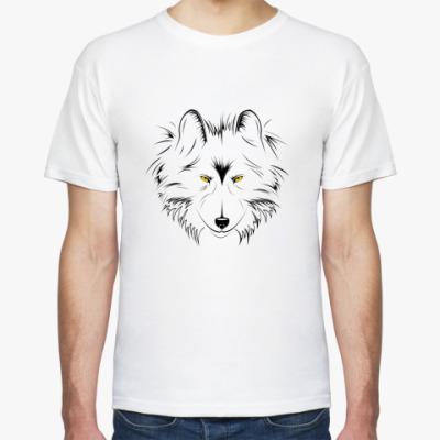 Футболка Серый Волк