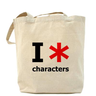 Сумка I love Characters
