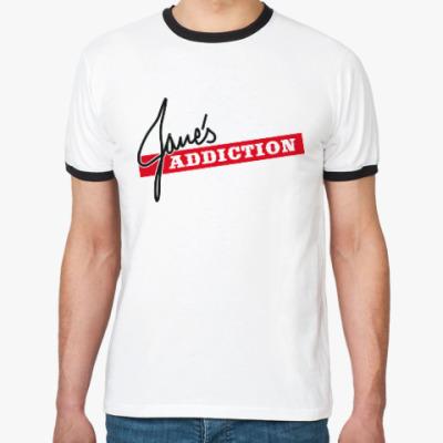 Футболка Ringer-T Jane's Addiction
