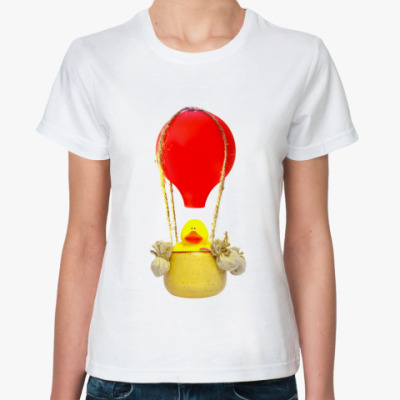 Классическая футболка В корзине воздушного шара