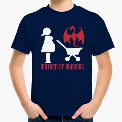 Детская футболка Мать драконов