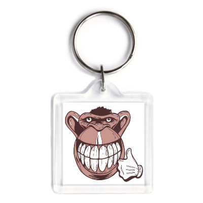 Брелок Веселая обезьяна