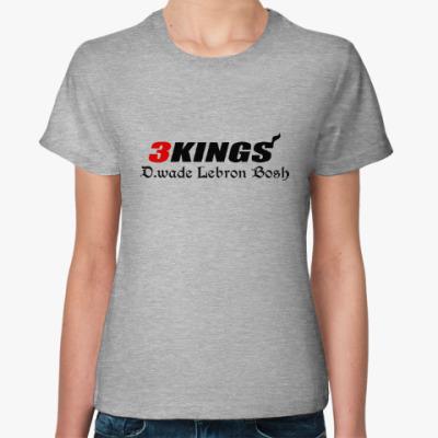 Женская футболка Три короля