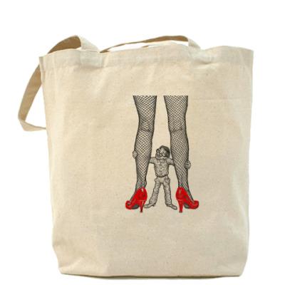 """Сумка Холщовая сумка """"Ноги"""""""