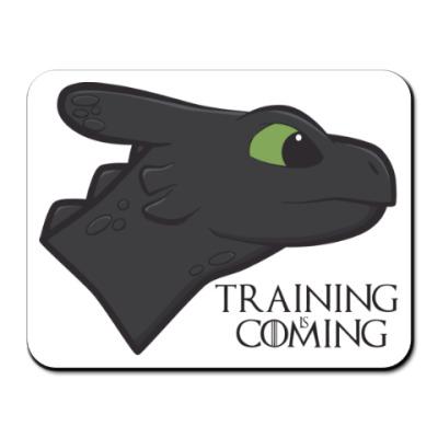 Коврик для мыши Обучение скоро