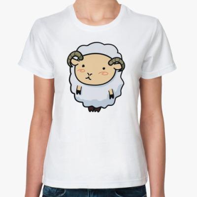 Классическая футболка  Овечка Долли