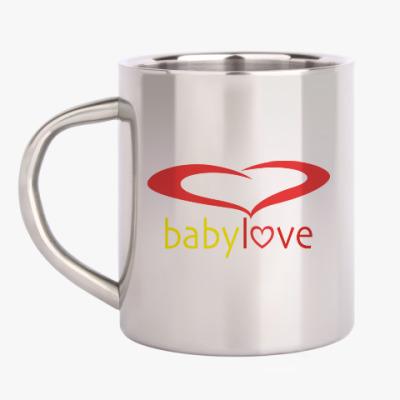 Кружка металлическая Baby Love