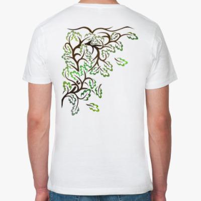 Футболка из органик-хлопка Листья
