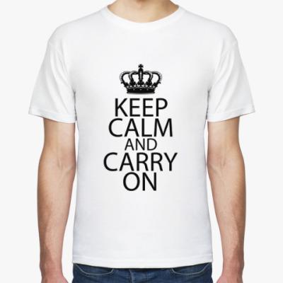 Футболка Футболка Keep Calm and carry