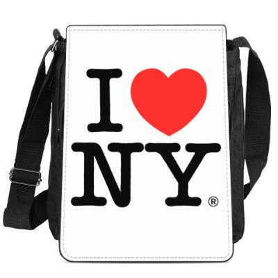 Сумка-планшет I love new york