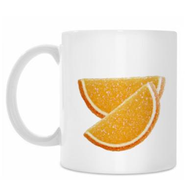 Кружка Апельсиновые дольки