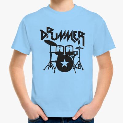 Детская футболка Барабанщик