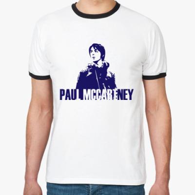 Футболка Ringer-T Paul Mccartney