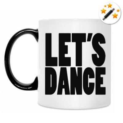 Кружка-хамелеон Let's dance