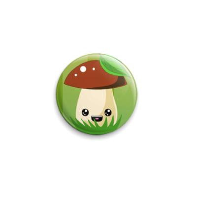 Значок 25мм Mushroom