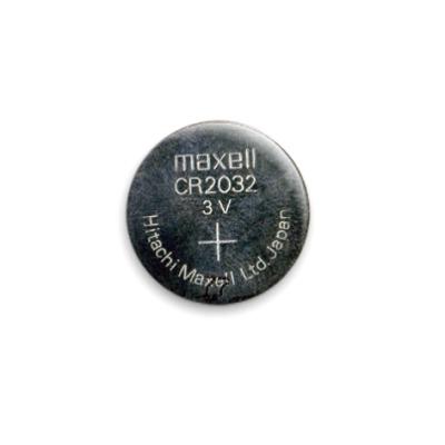 Значок 25мм Батарейка #1