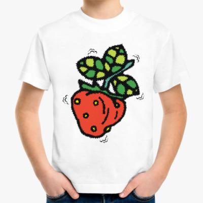 Детская футболка Моя клубничка