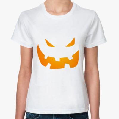 Классическая футболка Halloween