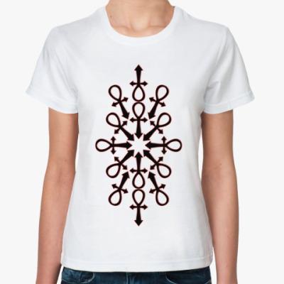 Классическая футболка Ankh