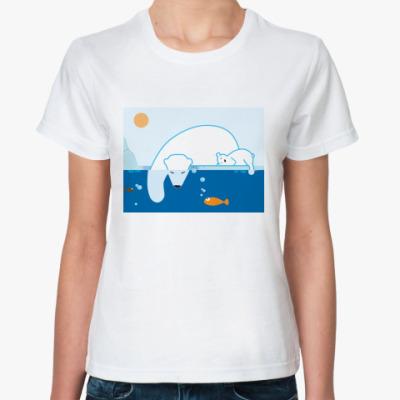 Классическая футболка  Как мама