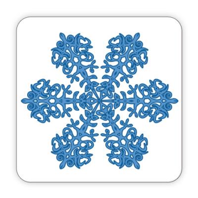 Костер (подставка под кружку) Зима