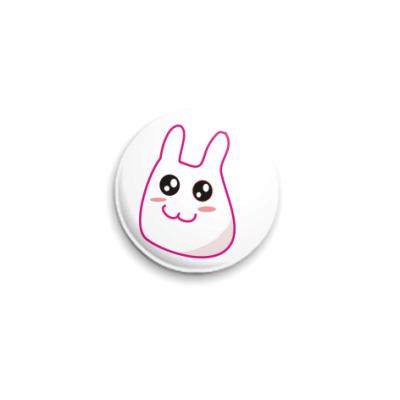 Значок 25мм Bunny