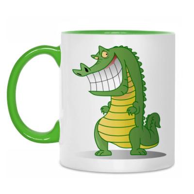 Кружка Злобный крокодил