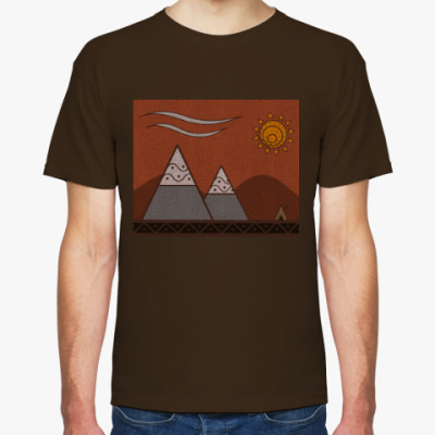 Футболка  PchWolf 'Calm mountains'