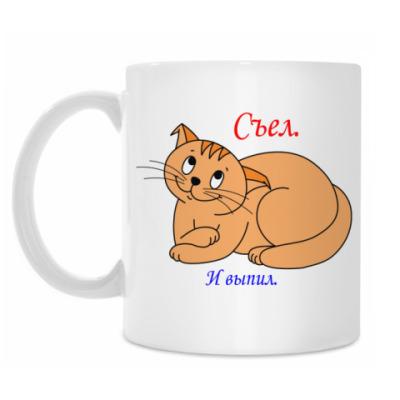 Кружка Кот