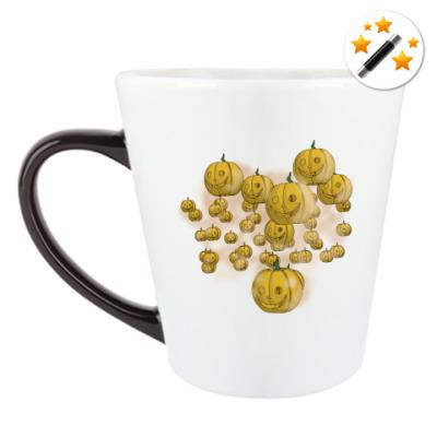 Кружка-хамелеон Весёлый хэллоуин